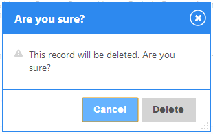 jTable delete confirmation dialog